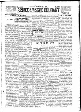 Schiedamsche Courant 1933-09-28