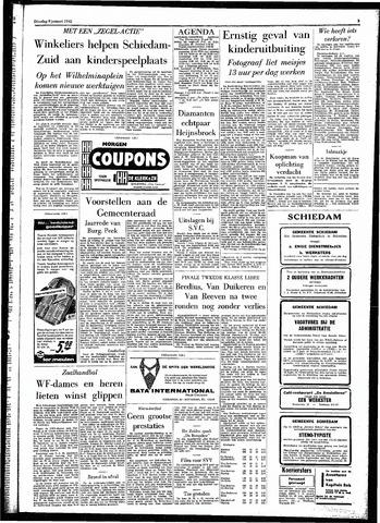Rotterdamsch Parool / De Schiedammer 1962-01-09