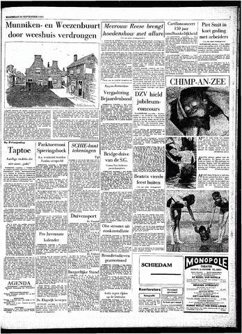 Rotterdamsch Parool / De Schiedammer 1963-09-18