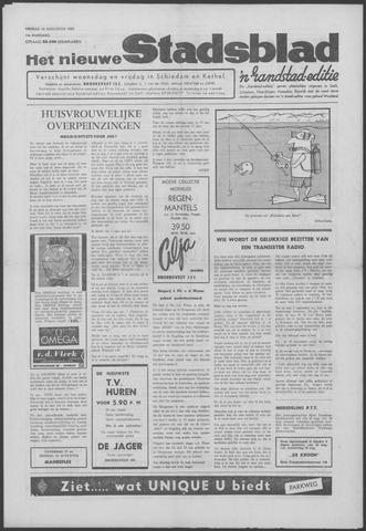 Het Nieuwe Stadsblad 1963-08-16