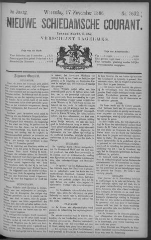 Nieuwe Schiedamsche Courant 1886-11-17