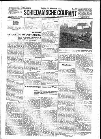 Schiedamsche Courant 1935-11-22