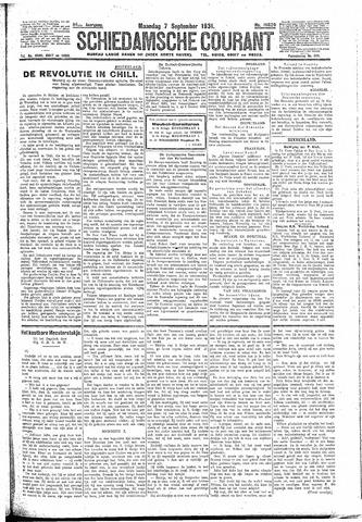 Schiedamsche Courant 1931-09-07