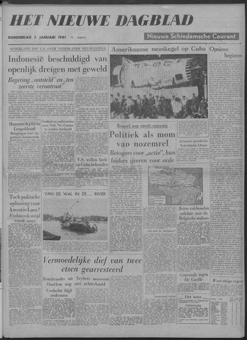 Nieuwe Schiedamsche Courant 1961-01-05