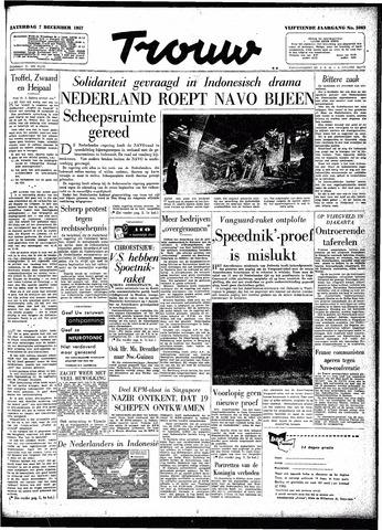Trouw / De Rotterdammer 1957-12-07