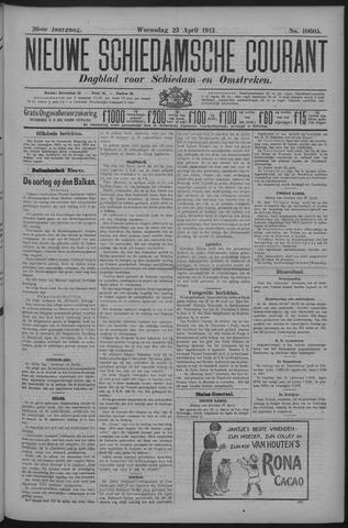Nieuwe Schiedamsche Courant 1913-04-23