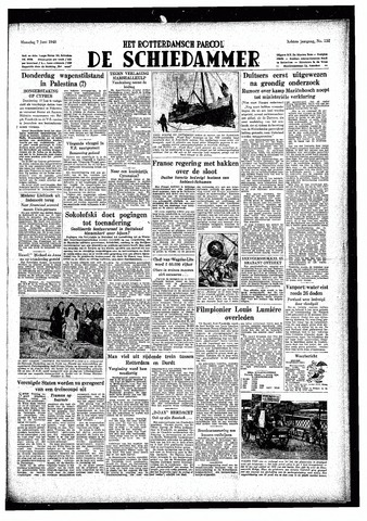 Rotterdamsch Parool / De Schiedammer 1948-06-07