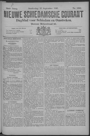 Nieuwe Schiedamsche Courant 1897-09-23