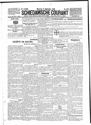 Schiedamsche Courant 1935-09-09