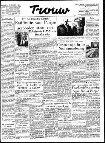 Trouw / De Rotterdammer 1955-03-30