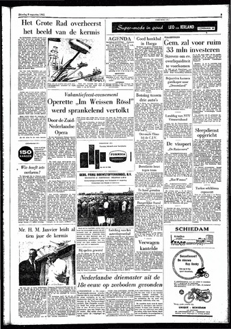 Rotterdamsch Parool / De Schiedammer 1961-08-08