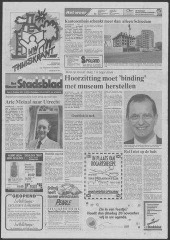 Het Nieuwe Stadsblad 1990-11-07