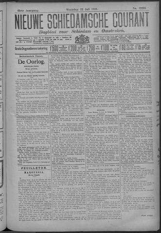Nieuwe Schiedamsche Courant 1918-07-22