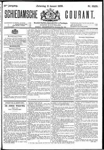 Schiedamsche Courant 1898-01-08