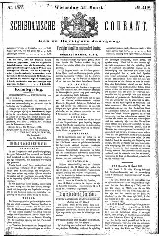 Schiedamsche Courant 1877-03-21