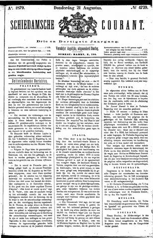 Schiedamsche Courant 1879-08-21