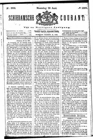 Schiedamsche Courant 1881-06-20