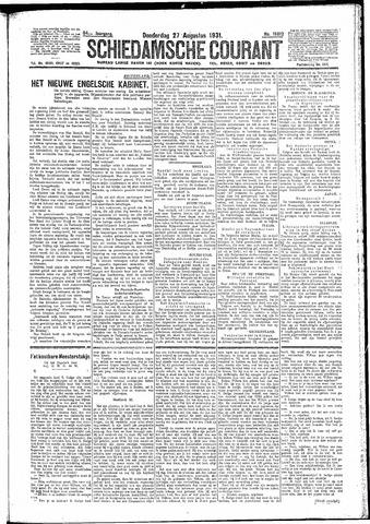 Schiedamsche Courant 1931-08-27