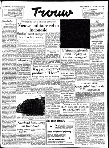 Trouw / De Rotterdammer 1955-12-14