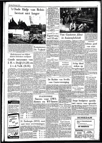 Rotterdamsch Parool / De Schiedammer 1961-01-10