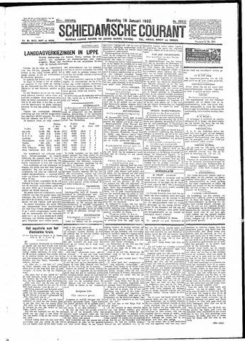 Schiedamsche Courant 1933-01-16