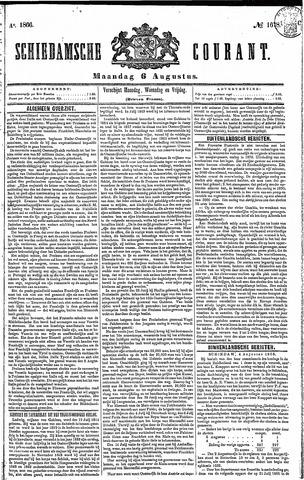 Schiedamsche Courant 1866-08-06
