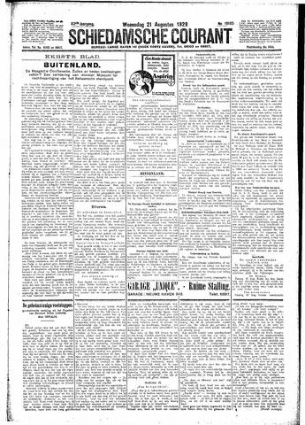 Schiedamsche Courant 1929-08-21