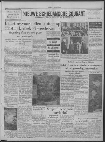 Nieuwe Schiedamsche Courant 1958-01-03