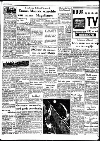 Trouw / De Rotterdammer 1963-02-11