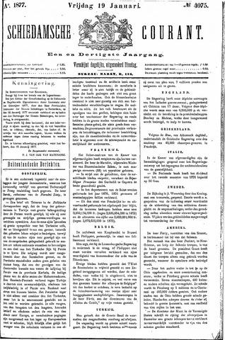 Schiedamsche Courant 1877-01-19