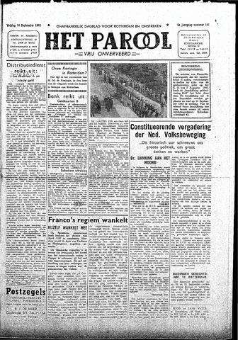 Rotterdamsch Parool / De Schiedammer 1945-09-14