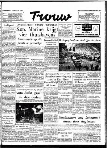 Trouw / De Rotterdammer 1959-02-04