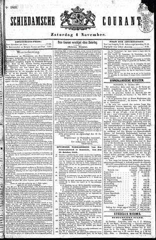 Schiedamsche Courant 1851-11-01