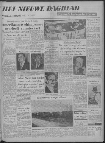 Nieuwe Schiedamsche Courant 1961-02-01