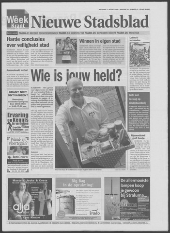 Het Nieuwe Stadsblad 2006-10-11
