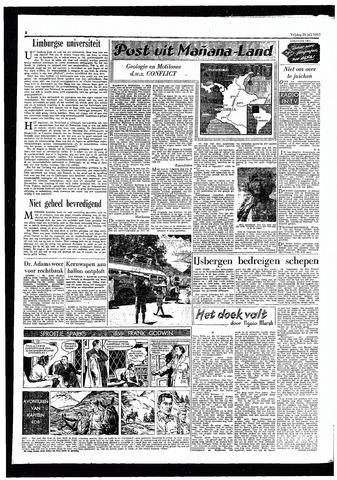 Rotterdamsch Parool / De Schiedammer 1957-07-26