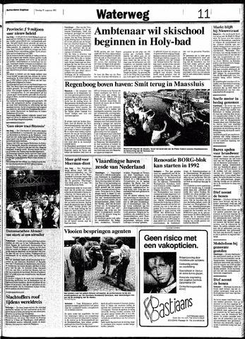 Rotterdamsch Nieuwsblad / Schiedamsche Courant / Rotterdams Dagblad / Waterweg / Algemeen Dagblad 1991-08-27