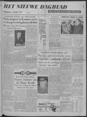Nieuwe Schiedamsche Courant 1962-03-01
