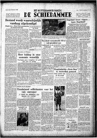 Rotterdamsch Parool / De Schiedammer 1948-01-15