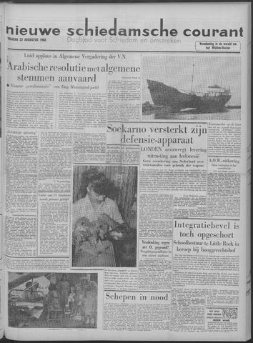 Nieuwe Schiedamsche Courant 1958-08-22