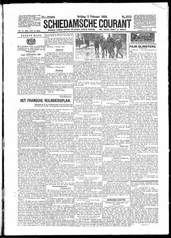 Schiedamsche Courant 1933-02-03