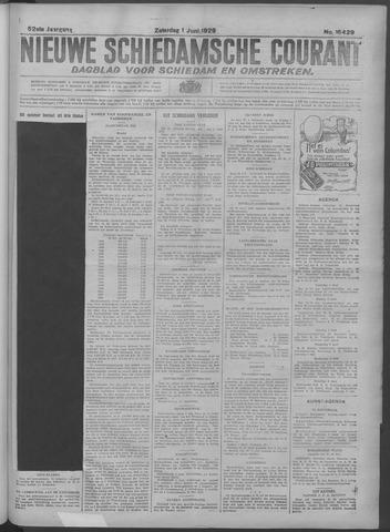 Nieuwe Schiedamsche Courant 1929-06-01