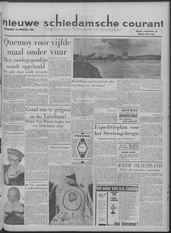 Nieuwe Schiedamsche Courant 1958-08-28