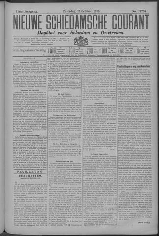 Nieuwe Schiedamsche Courant 1918-10-12