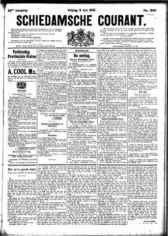 Schiedamsche Courant 1916-06-09