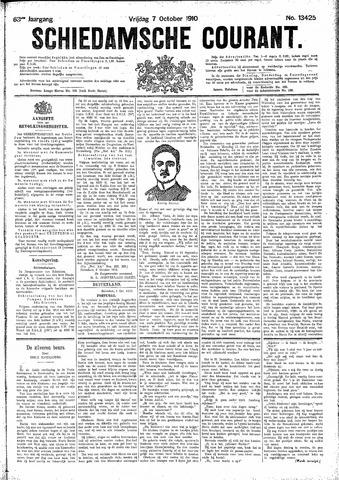 Schiedamsche Courant 1910-10-07
