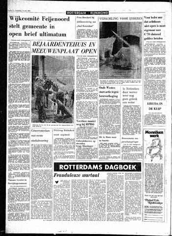 Rotterdamsch Parool / De Schiedammer 1970-06-10