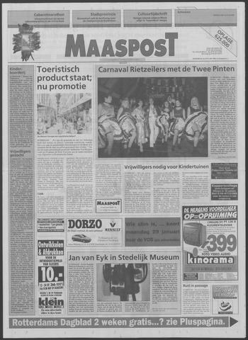 Maaspost / Maasstad / Maasstad Pers 1996-01-24