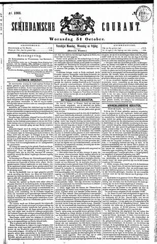 Schiedamsche Courant 1866-10-31