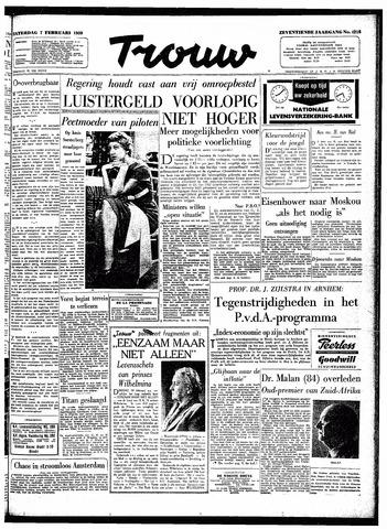 Trouw / De Rotterdammer 1959-02-07